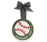 Baseball Ornament, Victory, Small, I Corinthians 15:57