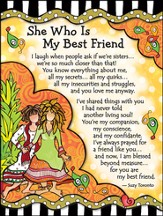 She Who Is My Best Friend Magnet