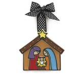 Nativity Ornament, Small
