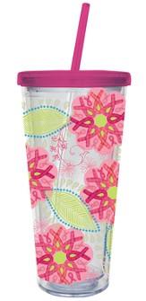 Ribbons of Courage Tumbler