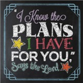 I Know the Plans I Have for You, Says the Lord Gift Book