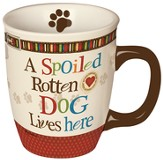 A Spoiled Rotten Dog Lives Here, Mug in a Gift Box