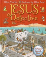 Jesus Detective: A Puzzle Search Book