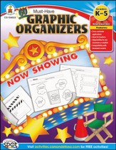 60 Must-Have Graphic Organizers Grades Kindergarten to Fifth