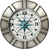 Compass Of Life Wall Clock