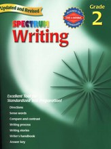 Spectrum Writing, 2007 Edition, Grade 2