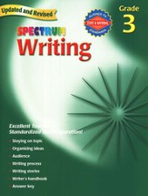 Spectrum Writing, 2007 Edition, Grade 3
