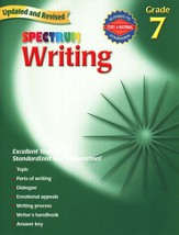 Spectrum Writing, 2007 Edition, Grade 7