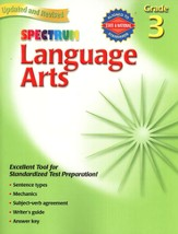 Spectrum Language Arts, 2007 Edition, Grade 3