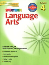 Spectrum Language Arts, 2007 Edition, Grade 4
