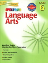 Spectrum Language Arts, 2007 Edition, Grade 6