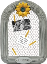 Blessings Frame, Memo with Wire