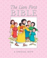 The Lion First Bible--hardcover, pink