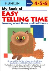 Kumon My Book of Easy Telling Time, Ages 4-6