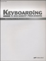 Keyboarding Quizzes & Tests