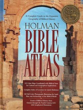 Holman Bible Atlas  - Slightly Imperfect
