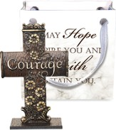 Cross-to-Go, Courage, Gift Bagged