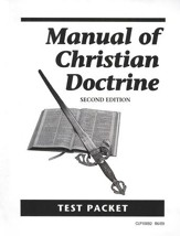 Manual of Christian Doctrine Test
