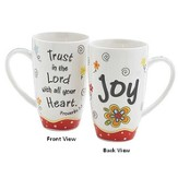 Trust in the Lord with All Your Heart, Joy Mug