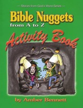 Bible Nuggets from A to Z Activity Book, Preschool