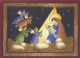 Glory To The Newborn King (Luke 2:10-14, KJV), 20 Count Boxed Christmas Cards