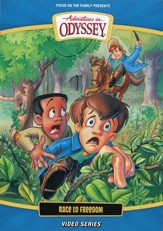 Adventures in Odyssey ® New Video Series #4: Race to Freedom, DVD