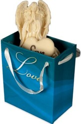 Angel-to-Go, Love, Medium, Gift Bagged
