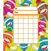 Sock Monkeys Incentive Pad (Pad of 36 Charts)