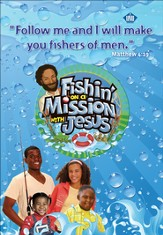 Fishin' on a Mission with Jesus: Logo Poster