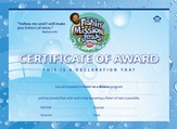 Fishin' on a Mission with Jesus: Certificate of Award for Youth (25 Pack)