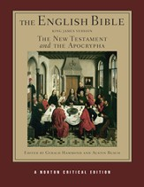 The English Bible, King James Version: The New Testament and the Apocrypha - Slightly Imperfect