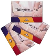 2012 Bible Bee Memory Cards NASB