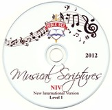 2012 Bible Bee Musical Scriptures Audio CD Set NIV