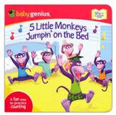 5 Little Monkeys Jumpin's on The Bed: A Sing 'N Count Book