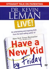 Dr. Kevin Leman LIVE! Straight Talk on Parenting -DVD