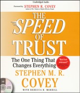Speed of Trust: The One Thing that Changes Everything Unabridged Audiobook on CD