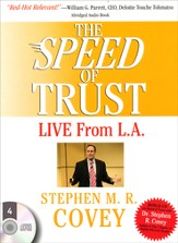 Speed of Trust - Live From LA, The - abridged audiobook on CD