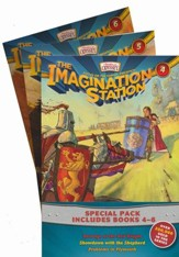 Adventures in Odyssey: The Imagination Station, Books 4-6