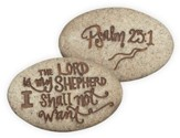 Psalm 23:1, Pocket Stone