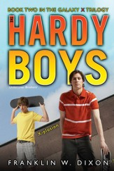 #29: The Hardy Boys Undercover Brothers: X-Plosion: Book 2 of the Galaxy X Trilogy
