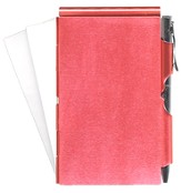 Blank, Memo Holder With Pen, Red