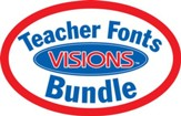 Teacher Font Visions Bundle (1 CD-Rom & 3 Books)