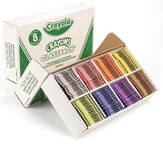 Crayola, Regular Size Crayons, 8 Colors, 800 Pieces
