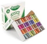 Crayola, Regular Size Crayons, 16 Colors, 800 Pieces