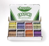 Crayola, Large Size Crayons, 8 Colors, 400 Pieces