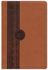 MEV (Modern English Version) Thinline Reference Bible, Brown, Imitation Leather