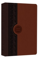 Modern English Version, Thinline Reference Bible, Chestunut/Brown imitation leather - Imperfectly Imprinted Bibles