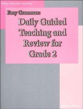 Easy Grammar Daily Review Grade 2