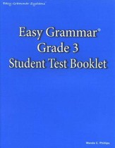 Easy Grammar Grade 3 Test Book