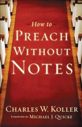 How to Preach without Notes - eBook
